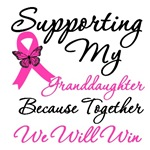 Breast Cancer Support (Granddaughter) Shirts