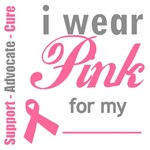Breast Cancer I Wear Pink Shirts & Gifts
