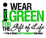 I Wear Green Gift of Life SCT Survivor T-Shirts