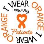 I Wear Orange Ribbon Sister Leukemia Shirts