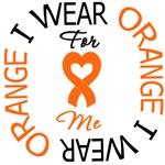 I Wear Orange Me Leukemia Shirts