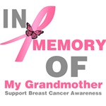 In Memory of My Grandmother Breast Cancer Shirts