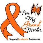 Leukemia Ribbon For My Grandmother Shirts