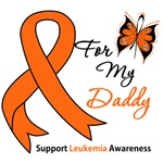 Leukemia Ribbon For My Daddy Shirts & Gifts