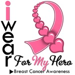 Breast Cancer Hero Ribbon Shirts & Gifts