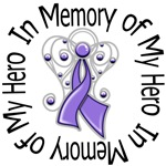In Memory of My Hero Hodgkin's Lymphoma Shirts