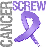 Screw Cancer on Hodgkins Lymphoma Tees