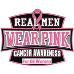 Real Men Wear Pink For All Women Products Shirts