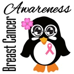 Breast Cancer Awareness Penguin Shirts and Gifts
