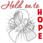 Hold On To Hope Bone Cancer Shirts