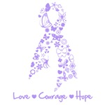 Love Courage Hope Cancer