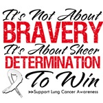 It's Not About Bravery Lung Cancer Shirts and Gift