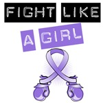Fight Like Girl Hodgkin's Lymphoma Shirts