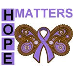 Hodgkin's Lymphoma Hope Matters Shirts and Gifts
