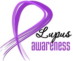 Lupus Grunge Ribbon
