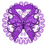 Leiomyosarcoma Butterfly Shirts