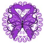Leiomyosarcoma Butterfly Shirts