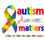 Autism Awareness Matters Shirts and Gifts