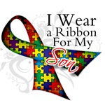 For My Son Autism Ribbon Shirts and Gifts