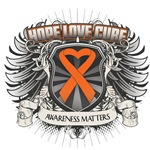 Hope Love Cure Leukemia Shirts and Gifts