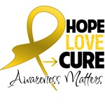 Childhood Cancer Hope Shirts and Gifts