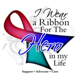 Thyroid Cancer Hero in My Life Shirts