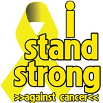 I Stand Strong Against Sarcoma Cancer Shirts