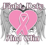 Fight Defy Win Breast Cancer Shirts