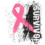 Breast Cancer Pink Ribbon Survivor Shirts