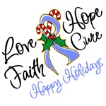Holiday Hope Stomach Cancer Shirts