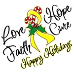 Holiday Hope Sarcoma Shirts, Apparel and Christmas