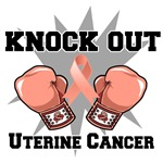 Knock Out Uterine Cancer Shirts