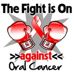 The Fight is On Oral Cancer Shirts