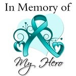 In Memory of My Hero Peritoneal Cancer Shirts
