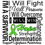 Lymphoma Fight Persevere Shirts  