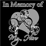 In Memory of My Hero Carcinoid Cancer Shirts