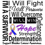 Bladder Cancer Persevere Shirts
