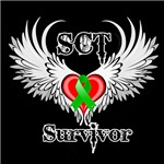 Stem Cell Transplant SCT Survivor Winged Shirts