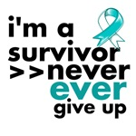 Never Give Up Cervical Cancer Shirts and Gifts
