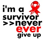 Never Give Up Blood Cancer Shirts and Gifts