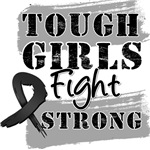 Melanoma Tough Girls Fight Strong Shirts
