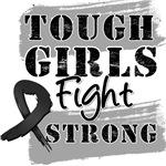 Melanoma Tough Girls Fight Strong Shirts