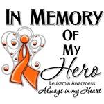 In Memory of My Hero Leukemia Shirts