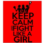 Retinoblastoma Keep Calm and Fight Like a Girl