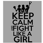 Mesothelioma Keep Calm and Fight Like a Girl