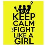 Ewing Sarcoma Keep Calm and Fight Like a Girl