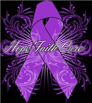 Hope Faith Cure Alzheimers Disease Shirts