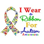 I Wear a Ribbon Autism Awareness