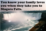 Niagara Falls means Love