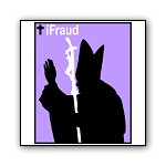iFraud, the Pope |iPod Parody T-shirts & Catholic Predator Gifts
